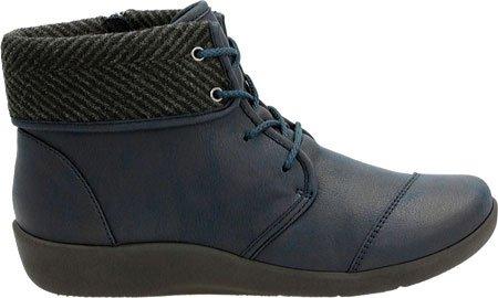 Boot Frey 12 Sillian Narrow Nubuck A Navy Women's Clarks Synthetic xwYEqUZ1