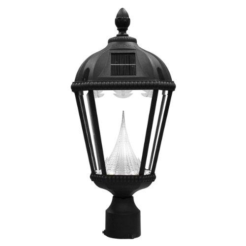 Led 3 Light Outdoor Post Lantern - 6