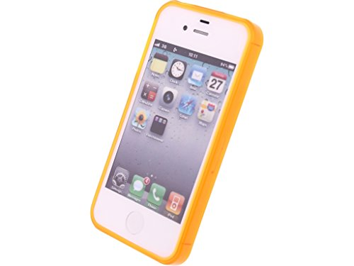 Mobilize Gelly Case Apple iPhone 4/4S Transparent Orange