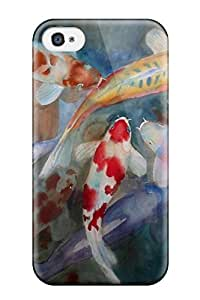 High Quality Shock Absorbing Case For Iphone 5c-fish