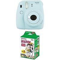Fujifilm Instax Mini 9 Kamera ice blau mit Film