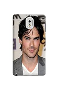 Cool Ian Somerhalder fashionable Unique Durable TPU Hard Protective Case Cover for Samsung Galaxy Note 3