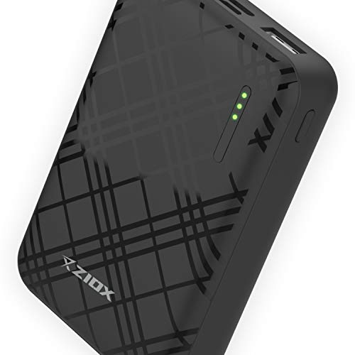 Ziox Dynamo Power Bank 10000 mAh with Type C/Micro USB  Black