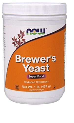 Brewers Yeast Dry (NOW Brewer's Yeast, 1-Pound (Pack of 2))