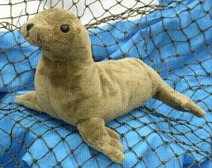 Sea Lion 8 Plush Stuffed Animal Toy from Wishpets