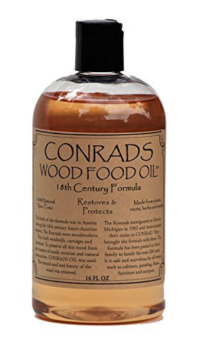 - Conrads Wood Food Oil (16 oz)