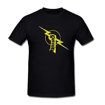 Drong Men's WWE Wrestling CM Punk Rise AboveT-Shirt XXXL Black