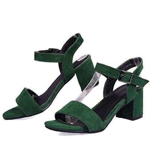 Scarpe Mode Zanpa Estate 2 Donna Tacco Green zOwq8S