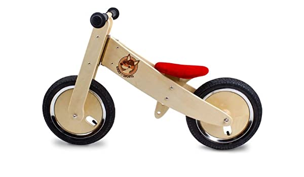 Childrens//Kids ZUM-CX Wooden Balance//Push Bike New