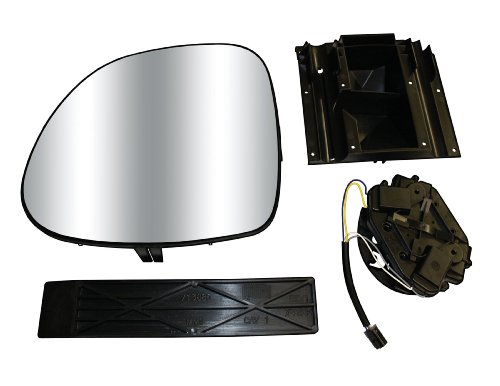 CIPA 70806 Extendable Replacement Electric and Electric Heated Mirror Subassembly Kit - Right Hand (Cipa Replacement Mirror Glass)