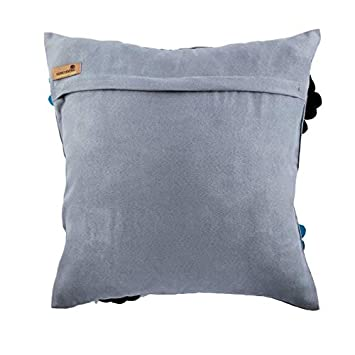 Amazon.com: Designer Blue Decorative Pillows Cover, 3D Felt ...