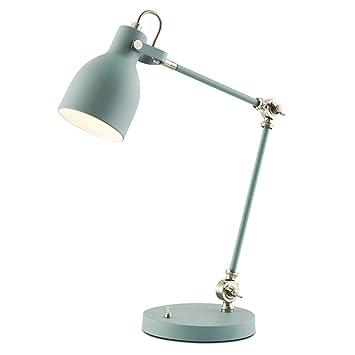 Lámpara de Escritorio Simple Moderna Ajustable Doble Del Brazo ...