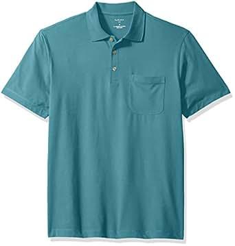 Van heusen men 39 s flex short sleeve polo at amazon men s for Van heusen men s short sleeve dress shirts