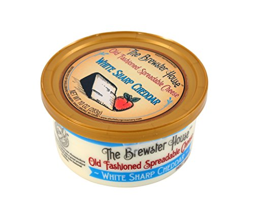 Brewster House - White Sharp Cheddar Cheese Spread - 10 oz.