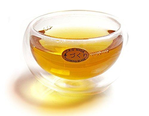 KOBU-TEE + Teecup aus Glas »Baichi«, doppelwandig 1 Stück