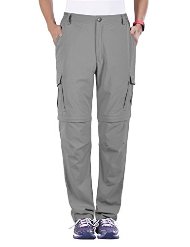 unitop Women's Convertible Hiking Quick Dry Pants