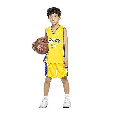 Ropa de Baloncesto para niños - Ropa de Baloncesto de Verano Kobe ...