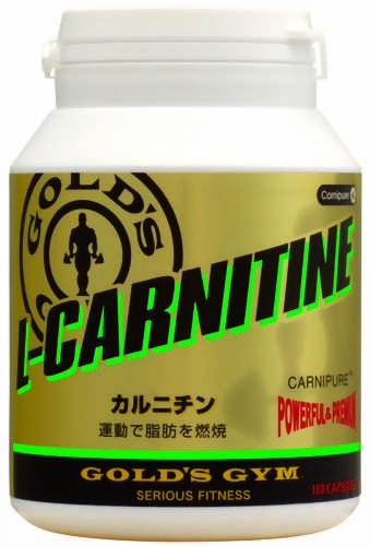 GOLD'S GYM Carnitine 180capsules by SULINNKU GGP