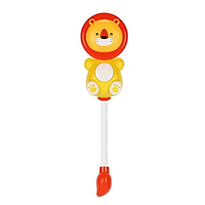 Jiashi Summer Baby Lion Cloud Electric Shower Children's Bath Toys/Playing in The Bathroom Bath Toys: Home & Kitchen