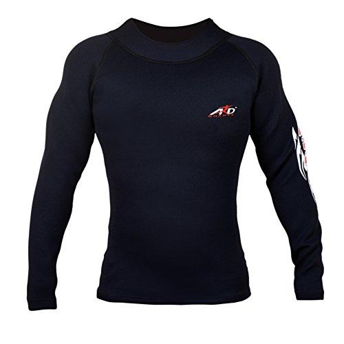 ARD Heavy Duty Neoprene Sweat Shirt Rash Guard Suana suit Weight Loss MMA Men Top – DiZiSports Store