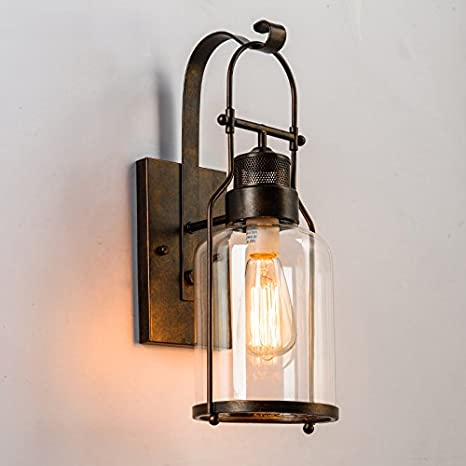 living room sconces candle lightinthebox vintage industry wall sconces retro rustic nordic glass lamp for living room dining