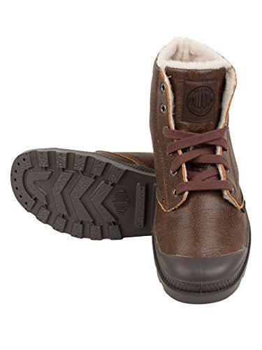 Pampa Braun S Hi PALLADIUM Leather HxAvAw