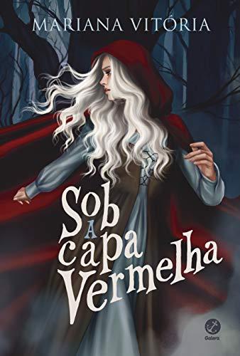 Sob capa vermelha Mariana Vitória