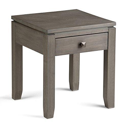 Simpli Home Cosmopolitan End Side Table Farmhouse Grey