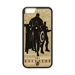 Classic Style Custom Silicone Hard Rubber Protector Case for iPhone6(4.7inch) - Marvel's The Avengers by supermalls