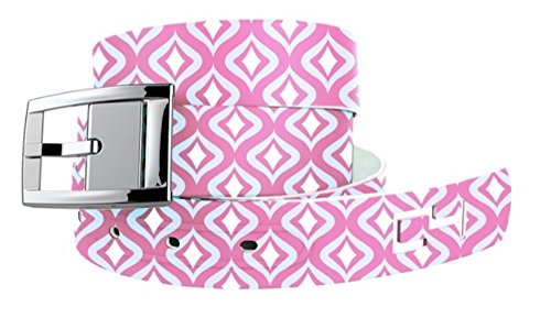 C4 Belts Moroccan Hot Pink Classic Belt with Silver Buckle