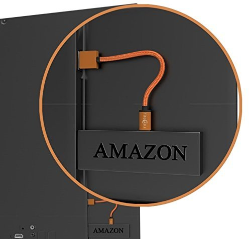 fireCable Plus Heavy Copper USB Power Cable for Fire TV Stick | Powers Firestick from Your TV's USB Port | Eliminates Hanging Wire Clutter | Perfect for Wall Mounted TVs