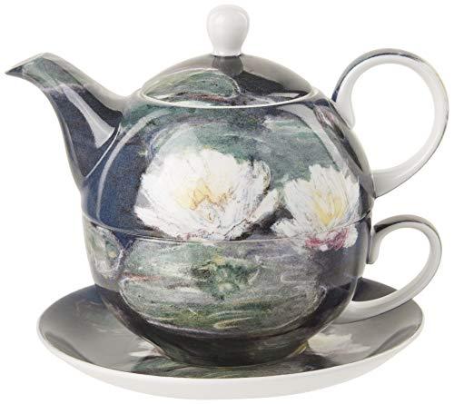 Claude Monet Water Lilies Tea for One (Monet Tea Set)