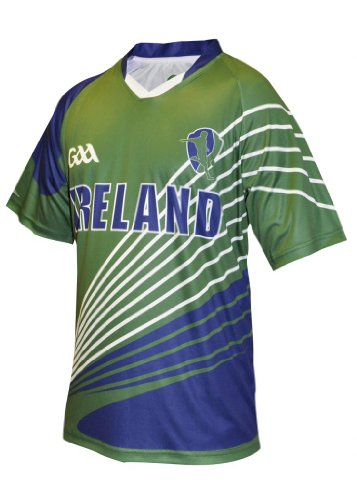 GAA Official Merchandise Gaelic Football Top, Large