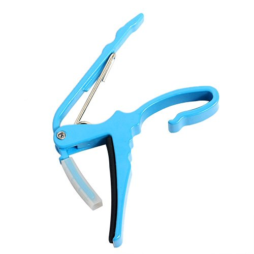 1pc Quick Change Blue Clamp Key Capo Blue for Electric/acoustic Guitar