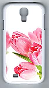 China Rose Hard Cover Back Case For Samsung Galaxy S4,PC White Case for Samsung Galaxy S4
