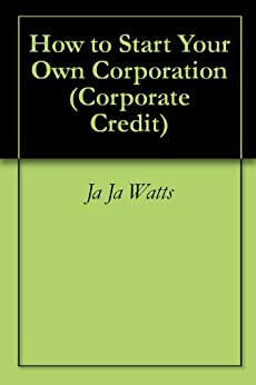 start your own corporation pdf