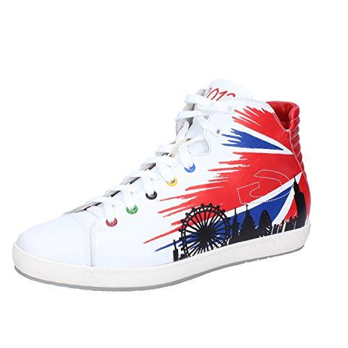 Alberto Guardiani Fashion-Sneakers Womens Leather White 8.5 ()