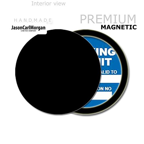 JasonCarlMorgan JCM Custom MOT License Tax Disc Permit Holders, Black