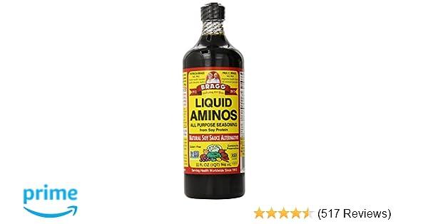 Amazoncom Bragg Liquid Aminos All Purpose Seasoning 32 Fl Oz