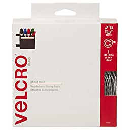 VELCRO Brand  - Sticky Back  - 15' x 3/4'' Tape - White