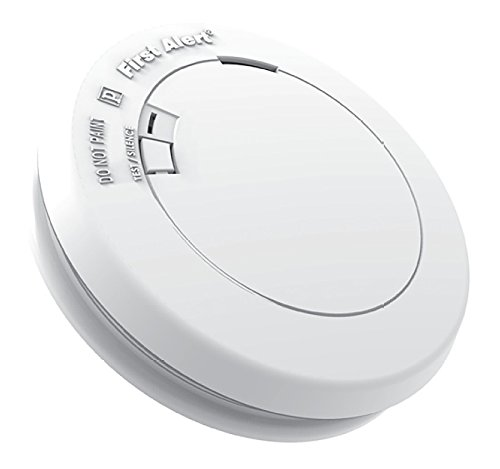 First Alert PR710A-6 Slim Series Lithium Battery-Powered Photoelectric Smoke Detector