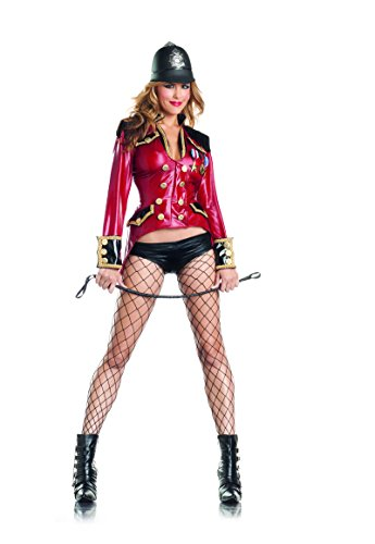 Adult Royal Guard Halloween Costumes (Adult Women's 2 Piece Sexy British Royal Guard Halloween Party Costume)