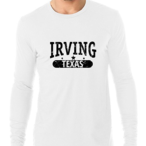 Hollywood Thread Trendy Irving, Texas With Stars Men's Long Sleeve T-Shirt]()