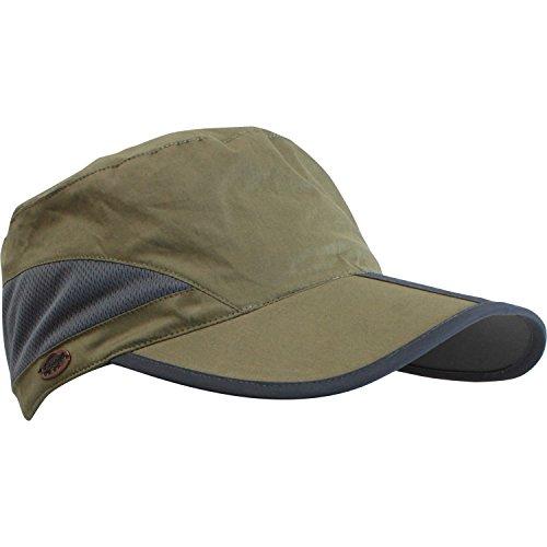 Turtle Fur Zuka Ball Cap Lightweight Pocket Packable Anti-Glare Hat, Olive Drab