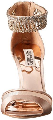 Badgley Mischka Womens Gazelle Jurk Sandaal Latte