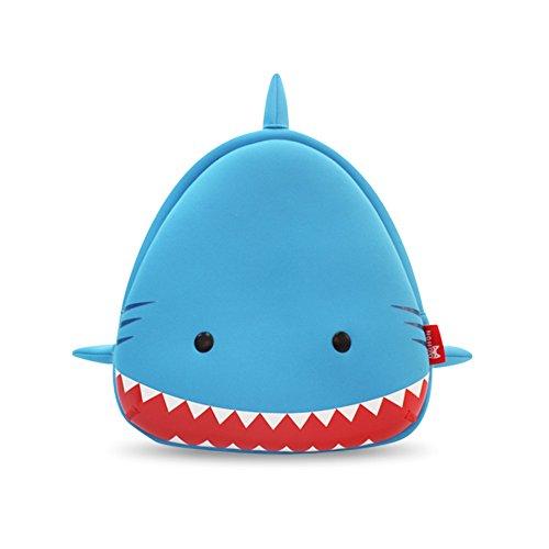 YISIBO Waterproof Kids Backpack 3D Zoo Shark Cartoon School Hiking Sidesick Bags