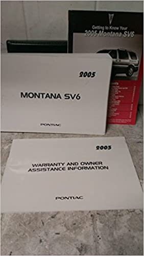 fuse box on 2005 pontiac montana 2005 pontiac montana sv6 owners manual amazon com books  2005 pontiac montana sv6 owners manual