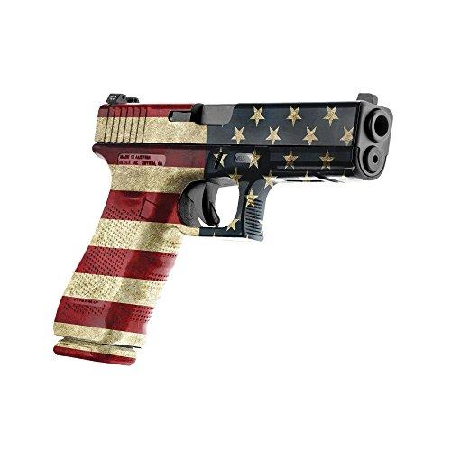 GunSkins Pistol Skin Camouflage Kit DIY Vinyl Handgun Wrap with precut Pieces (America)