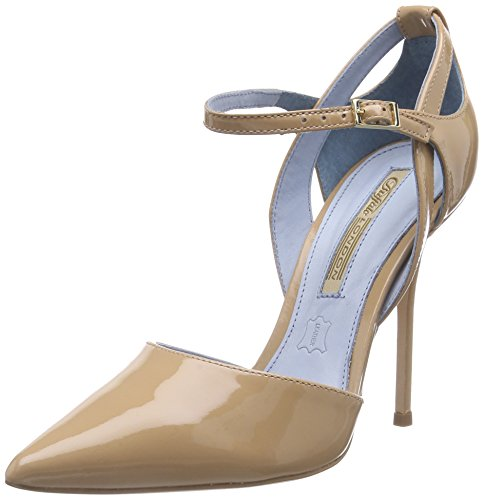 Buffalo 726x-090 Patent Damen Pumps Beige (Forget Me Not 01)