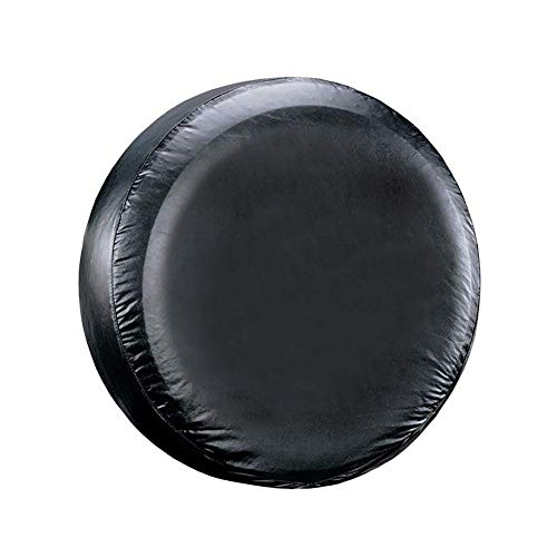 Shentesel 28inch Car Spare Tire Cover Vehicle SUV Tyre Protector Storage Bag Wheel Case - Black
